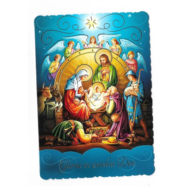 Ziemassvētku apsveikuma kartiņa ar konvertu