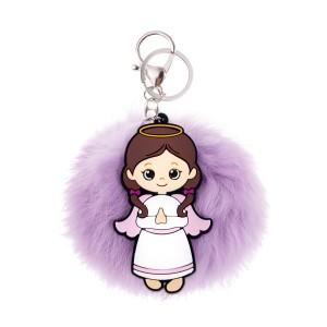 Atslēgu piekariņš eņģelis ar pūkai...