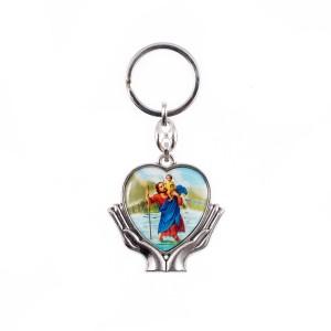 Atslēgu piekariņš Svētais Kristofers...