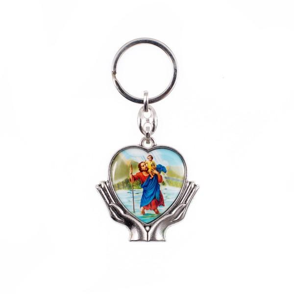 Atslēgu piekariņš Svētais Kristofers