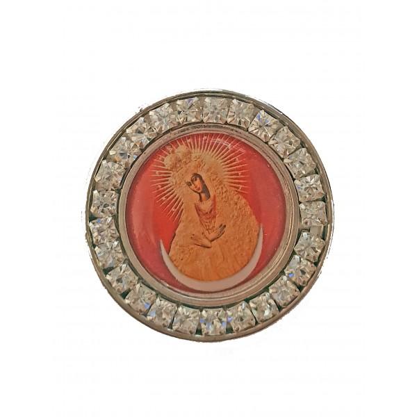 Ostrobramas Dievmātes medaljons - magnēts
