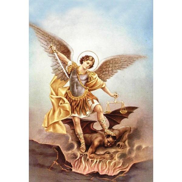 Ledusskapja magnēts Svētais erceņģelis Miķelis