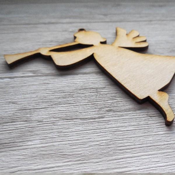 """Koka figūriņu komplekts """"Ziemassvētku"""" 8 cm"""