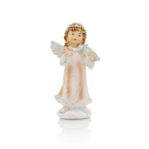 Eņģeļa figūra ar mūzikas instrumentiem 10 cm