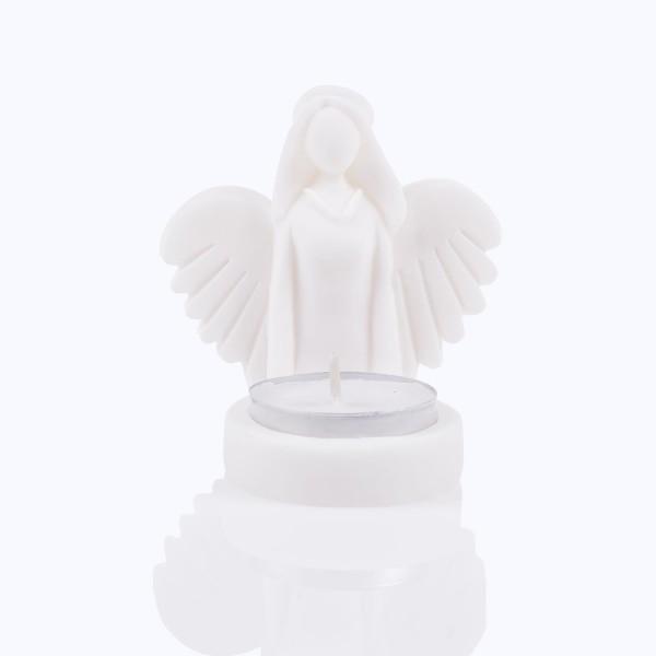 Svečturis Eņģelis no alabastra 8 cm