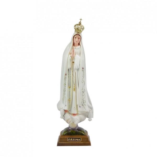 Fatimas Dievmātes figūra 27 cm