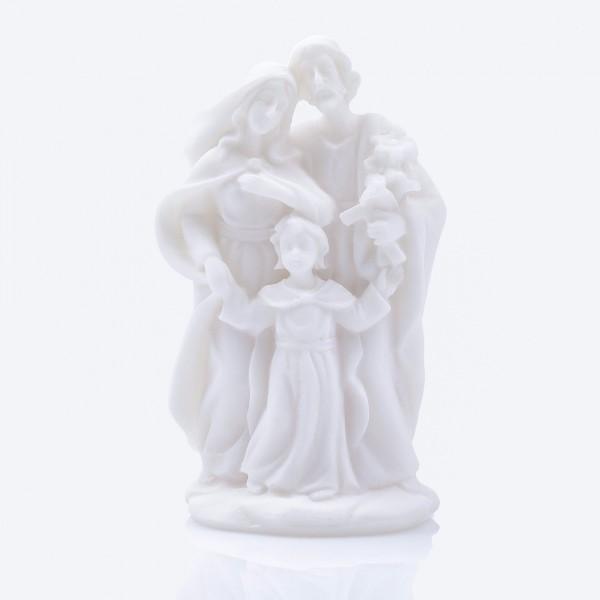 Svētās ģimenes figūra alabastra 10 cm