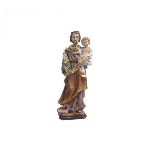 Figūra Svētais Jāzeps ar Jēzus Bērnu 12 cm