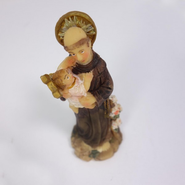 Figūra Svētais Antons ar Jēzus Bērnu 7 cm