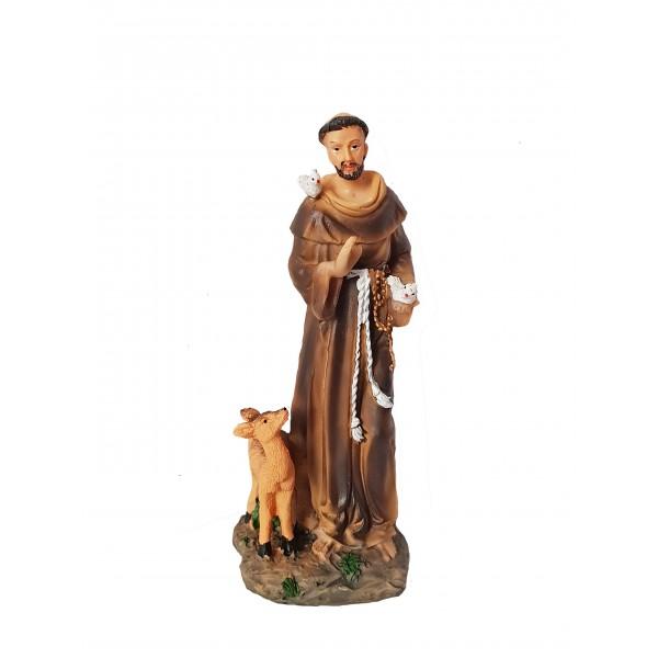 Figūra Svētais Francisks 14 cm