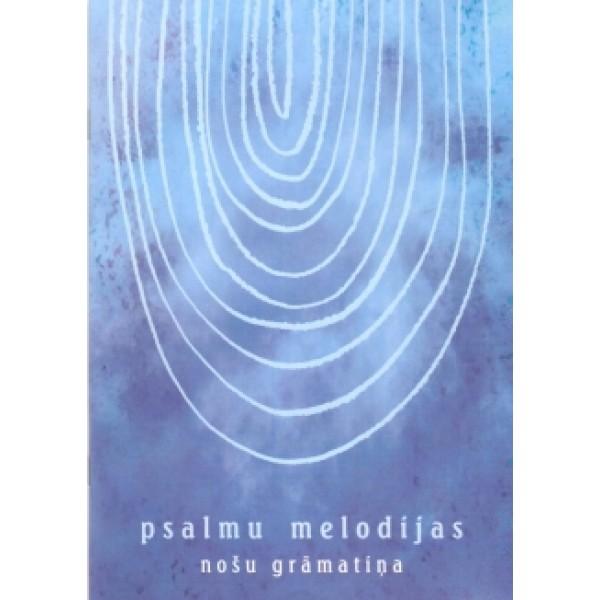 Psalmu melodijas nošu grāmata