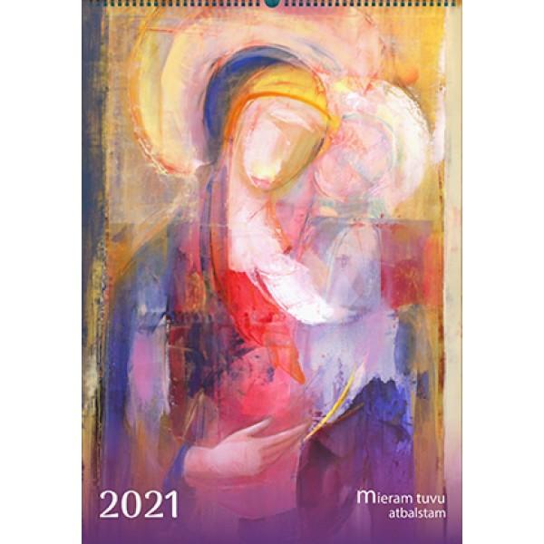 Sienas katoļu kalendārs 2021. gadam (liels)
