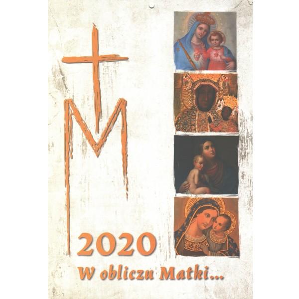 Katoļu sienas kalendārs 2020 (poļu valodā)