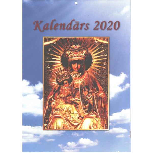 Katoļu kalendārs 2020 (sienas)