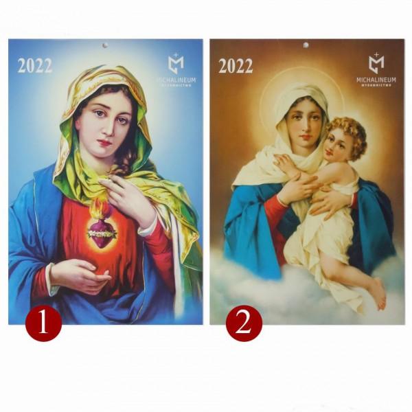 Katoļu sienas kalendārs 2022 (poļu valodā)