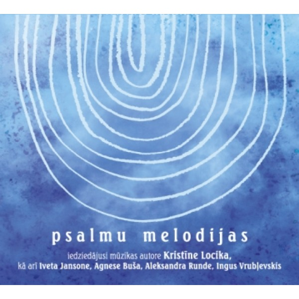 Psalmu melodijas Kristīne Locika CD