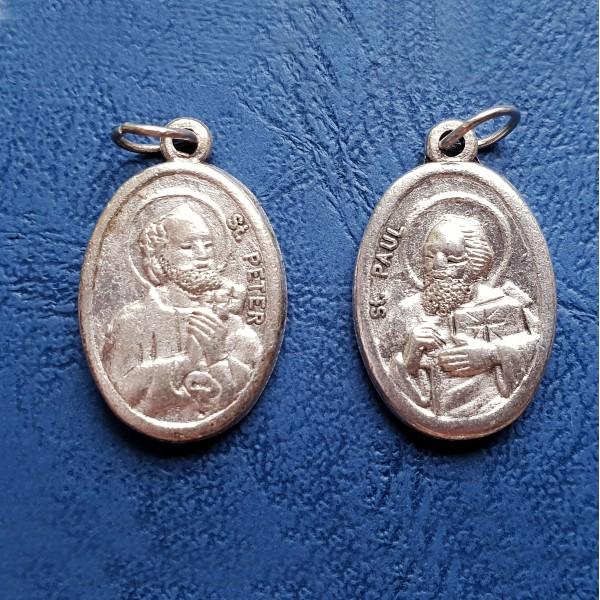 Medaljons Svētie Pēteris un Pāvels 1,5 cm