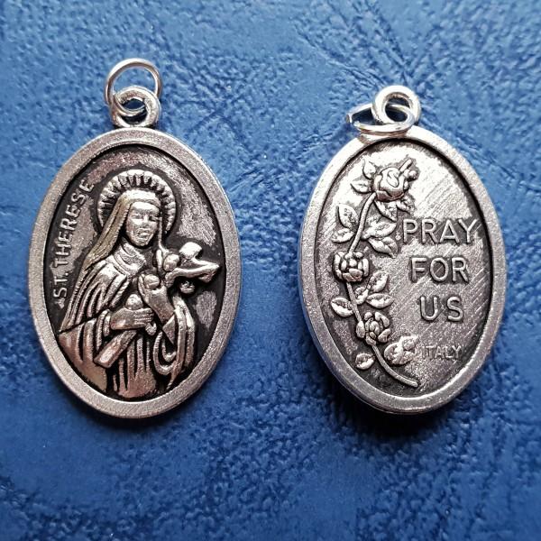 Svētās Terēzes medaljons 2,5 cm
