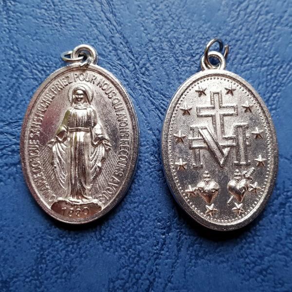 Brīnumainais Dievmātes medaljons 2,5 cm