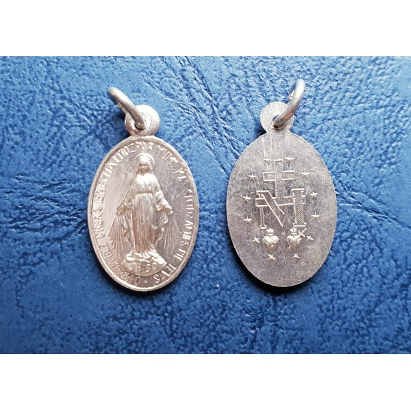 Brīnumainais Dievmātes medaljons ar/bez aukliņas