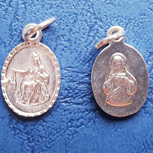 Karmela Dievmātes skapulāra medaljons 1,3 cm
