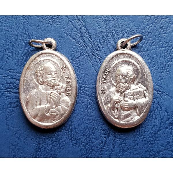 Medaljons Svētie Pēteris un Pāvels ar/bez aukliņas