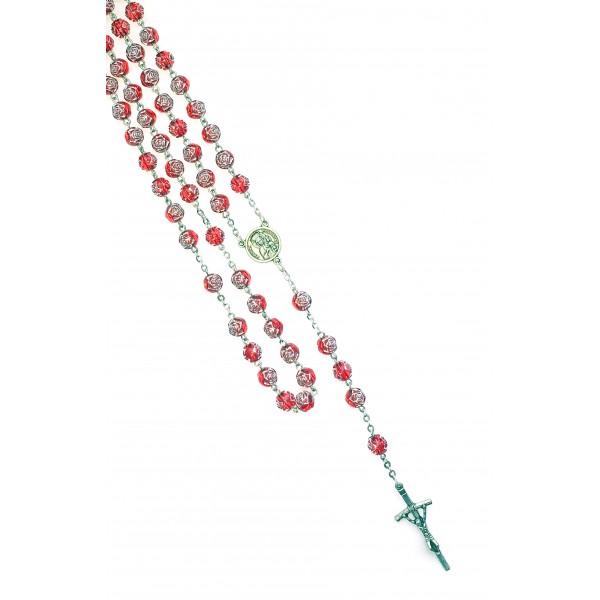Rožukronis ar zīlītēm rožu formā