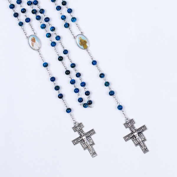 Rožukronis ar Sv. Franciska krustu