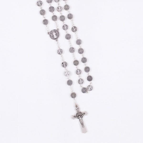 Rožukronis no Svētā Benedikta medaljoniem