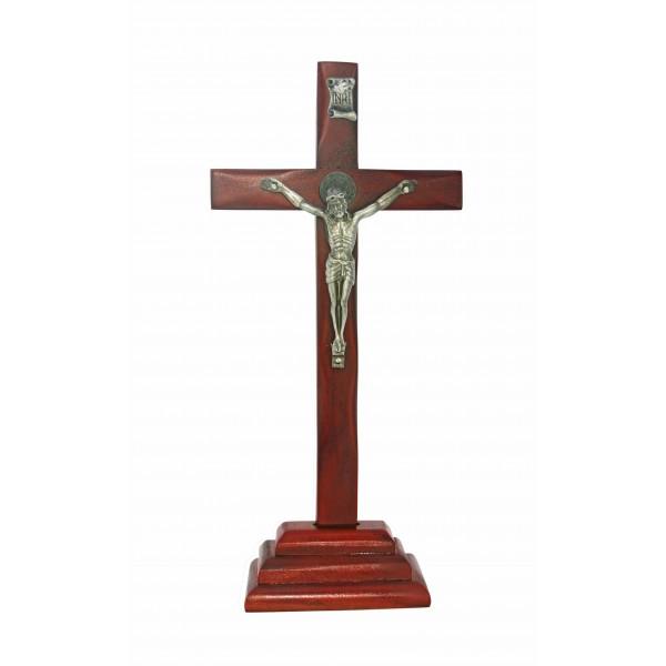 Galda krusts ar Svētā Benedikta medaljonu 25 cm