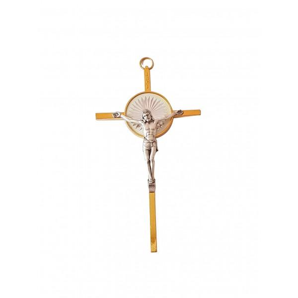 Sienas krusts metāla 13 cm