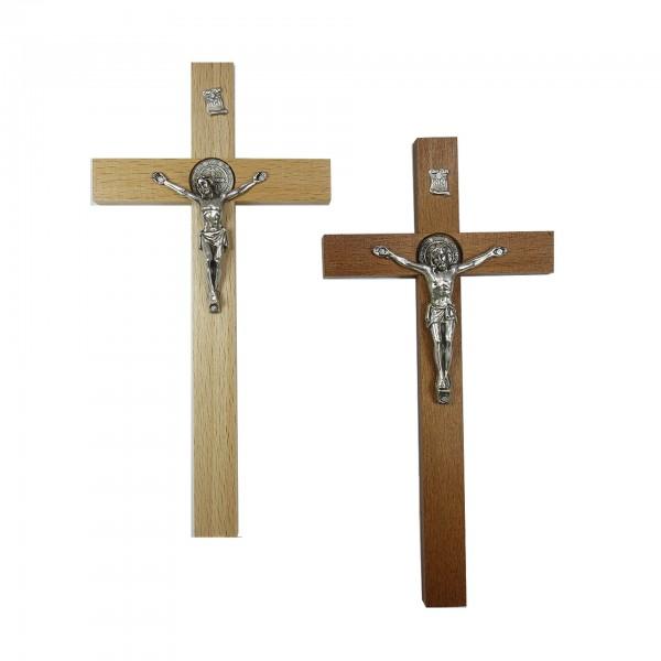 Sienas krusts ar Svētā Benedikta medaljonu 20/10 cm
