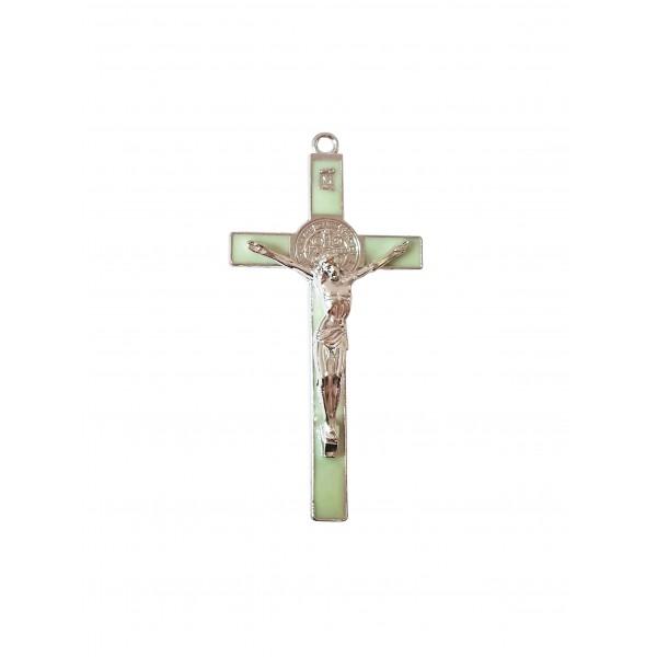 Sienas krusts ar Svētā Benedikta medaljonu 15,5 cm