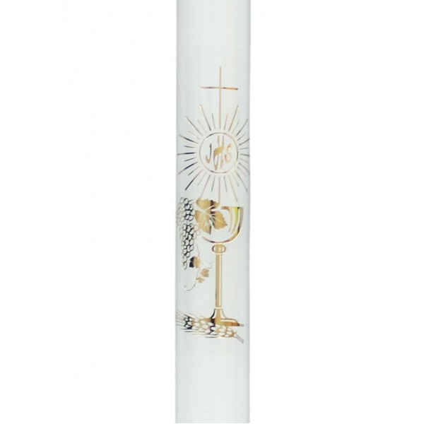 Svece iestiprināšanai vai Pirmajai Svētai komūnijai 34,5 cm