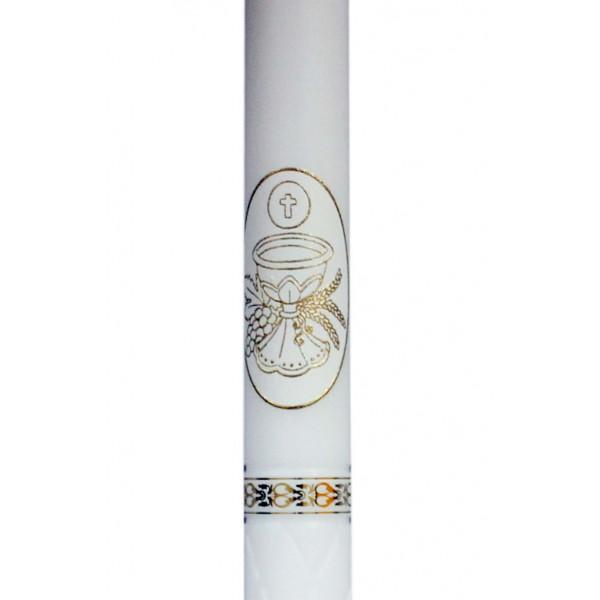 Svece iestiprināšanai vai Pirmajai Svētai komūnijai 39 cm