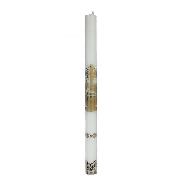 Kristību svece 29,5 cm
