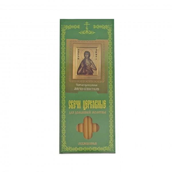 Baznīcas sveces святая преподобная Мария Египетская