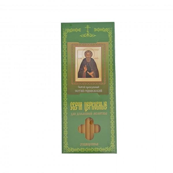 Baznīcas sveces Св. Пр. Сергий Радонежский