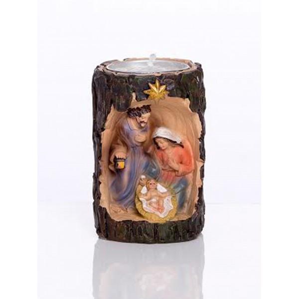 Betlēmes figūra svečturis tējas svecei 7,5 cm