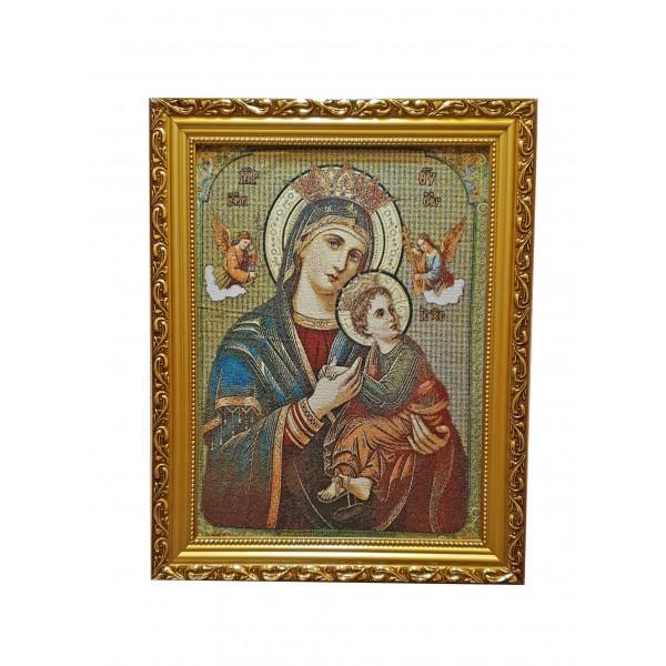 Gobelēns Nemitīgās Palīdzības Dievmāte 36 x 46 cm