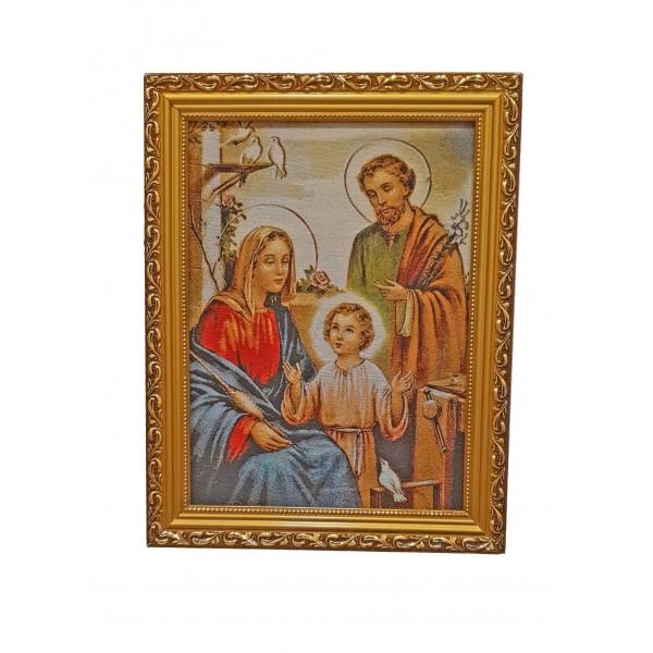 Gobelēns Svētā ģimene 36 x 46 cm