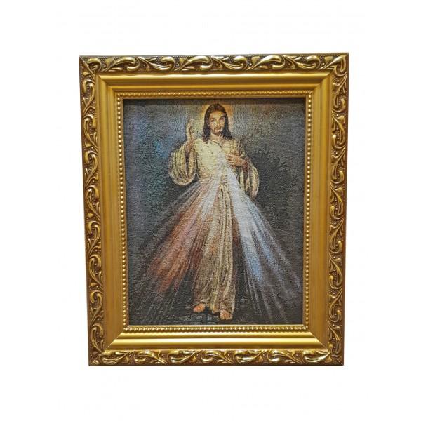 """Gobelēns """"Žēlsirdīgais Jēzus"""" 27 x 32 cm"""