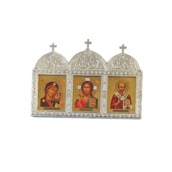 Svētbilde ar trijiem svēto attēliem