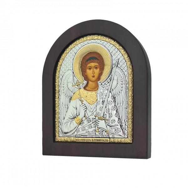 Sudraba ikona Sargeņģelis 11 x 13 cm