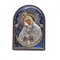 Sudraba ikona Ostrobramas Diev...