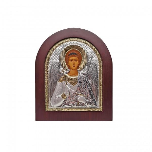Sudraba ikona Sargeņģelis 10,7 x 12,8 cm