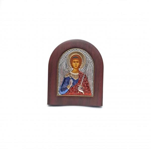 Sudraba ikona Sargeņģelis 8,1 x 9,6 cm