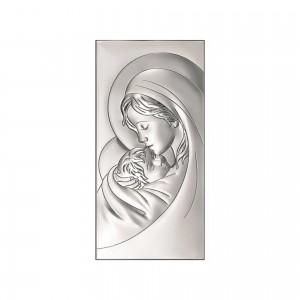 Sudraba ikona Jaunava Marija ar bērnu 1...