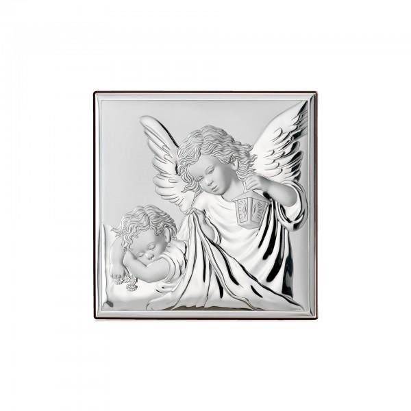 Sudraba ikona Sargeņģelis 8 x 8 cm