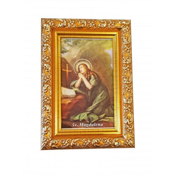 """Svētbilde  """"Svētā Magdalēna"""" 9 x 13 cm"""